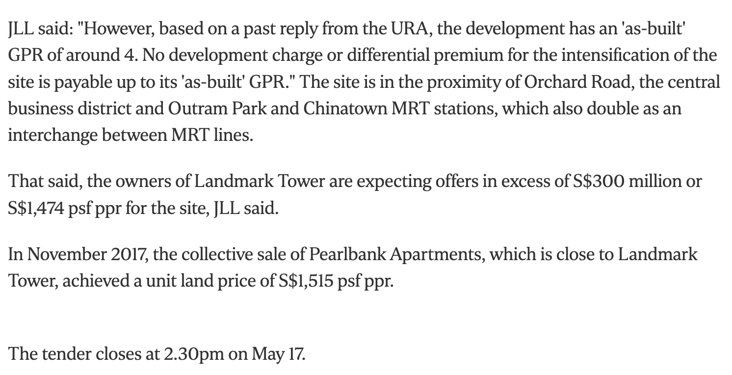 the-landmark-landmark-tower-up-for-collective-sale-with-expected-price-of-more-than-S$300million-3